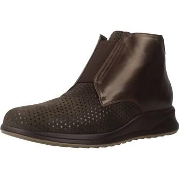 Zapatos Mujer Botas de caña baja Mateo Miquel 3450 2 Marron