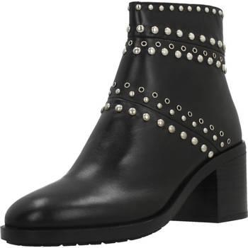 Zapatos Mujer Botas de caña baja Elvio Zanon I6301N Negro