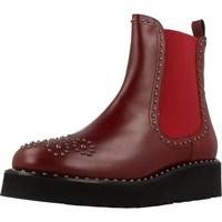 Zapatos Mujer Botas de caña baja Pon´s Quintana 7154 R04 Rojo