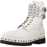 Zapatos Mujer Botas de caña baja Pon´s Quintana 7190 008 Blanco
