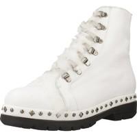 Zapatos Mujer Botas de caña baja Pon´s Quintana 7191 008 Blanco