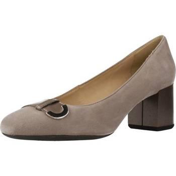 Zapatos Mujer Zapatos de tacón Geox D AUDALIES MID Marron