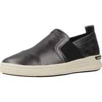 Zapatos Niña Slip on Geox J AVEUP GIRL Gris