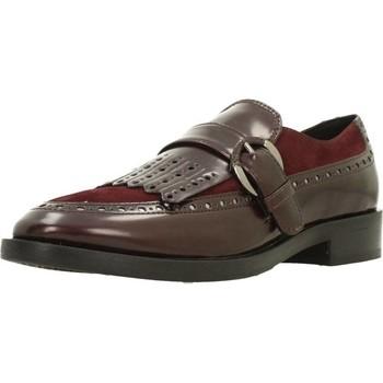 Zapatos Mujer Mocasín Geox DONNA BROGUE Rojo