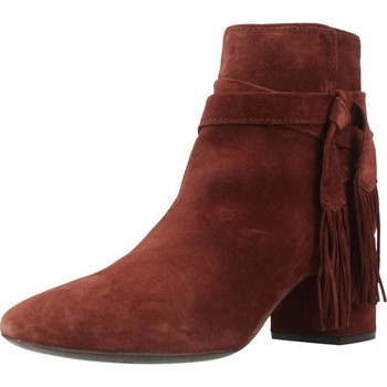 Zapatos Mujer Botas de caña baja Geox D AUDALIES MID Marron