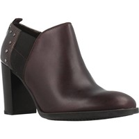Zapatos Mujer Low boots Geox D HERIETE HIGH Marron