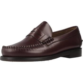Zapatos Hombre Mocasín Sebago 7000300W ANCHO ESPECIAL Rojo