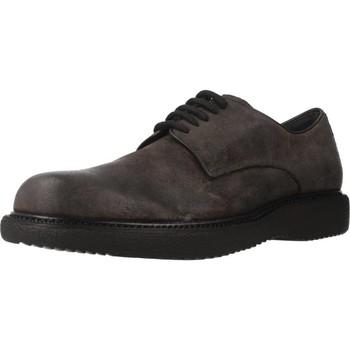 Zapatos Hombre Derbie Stonefly MUSK 3 VELOUR OIL Marron