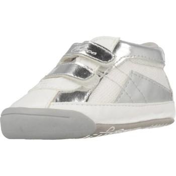 Zapatos Niña Zapatillas altas Chicco NEMIX Blanco