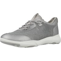 Zapatos Mujer Zapatillas bajas Geox D NEBULA X Plata