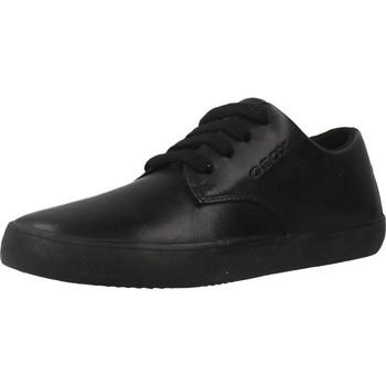 Zapatos Niño Zapatillas bajas Geox J KILWI B. G Negro