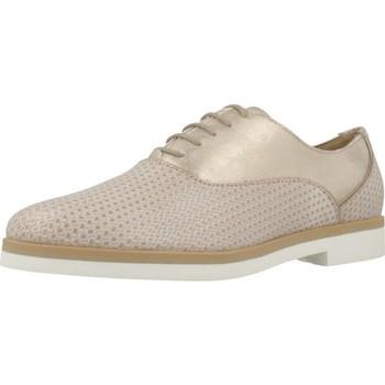 Zapatos Mujer Derbie Geox D JANALEE A Marron