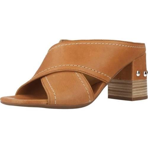 Alpe 4214 15 Marron - Zapatos Zuecos (Mules) Mujer