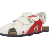 Zapatos Niño Sandalias de deporte Chicco HELIX Blanco