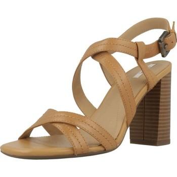 Zapatos Mujer Sandalias Geox D AUDALIES HIGH SAND Marron