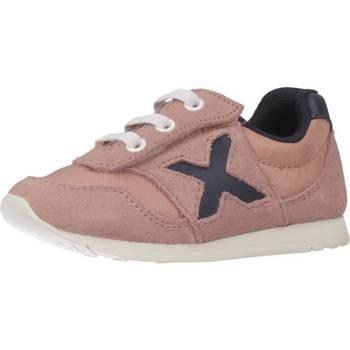 Zapatos Niña Zapatillas bajas Munich Fashion 1700019 Rosa