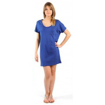textil Mujer Vestidos cortos American Vintage ROBE CI88E11 INDIGO Azul