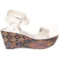Zapatos Mujer Sandalias Cassis Côte d'Azur Sandales Amalia Blanc Blanco