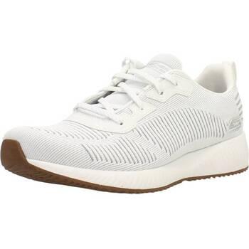 Zapatos Mujer Zapatillas bajas Skechers BOBS SQUAD GLAM LEAGUE Blanco