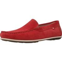 Zapatos Hombre Mocasín Fluchos F0424 Rojo