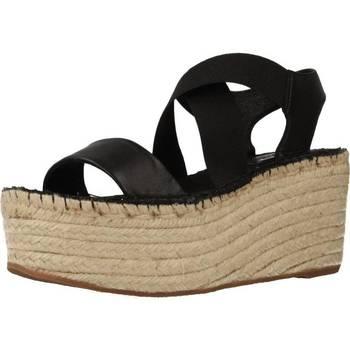 Zapatos Mujer Alpargatas Vidorreta 36400NAML Negro