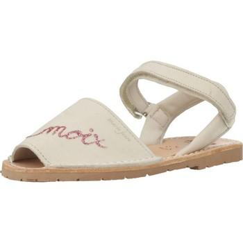 Zapatos Niña Sandalias Ria 20090 Beige
