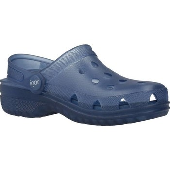 Zapatos Niño Zuecos (Clogs) Igor S10226 Azul