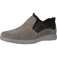 Zapatos Hombre Slip on Stonefly SPACE UP 1 BIS VEL. Gris