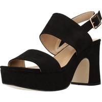 Zapatos Mujer Sandalias Different 64 8540 Negro