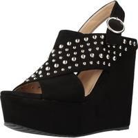 Zapatos Mujer Sandalias Different 64 8549 Negro