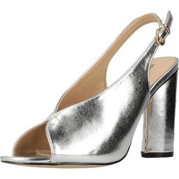 Zapatos Mujer Sandalias Different 64 8624 Plata