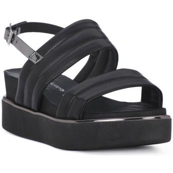 Zapatos Mujer Sandalias Sono Italiana NAPPA NERO Nero