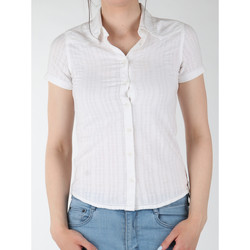 textil Mujer Camisas Wrangler Sammy W5021CA12 blanco