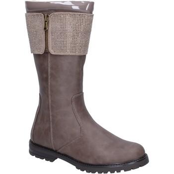 Zapatos Niña Botas urbanas It's For You botas cuero sintético beige