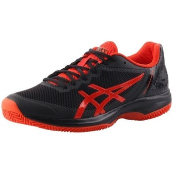 Zapatos Hombre Tenis Asics Gelcourt Speed Clay Negros, Rojos