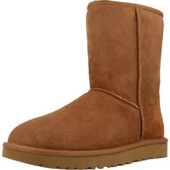Zapatos Mujer Botas de nieve UGG CLASSIC SHORT Marron