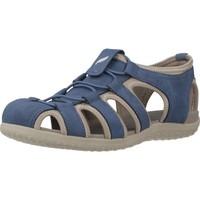 Zapatos Mujer Sandalias de deporte Geox D SANDAL VEGA Azul