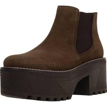 Zapatos Mujer Botas de caña baja Alpe 3504 11 Marron