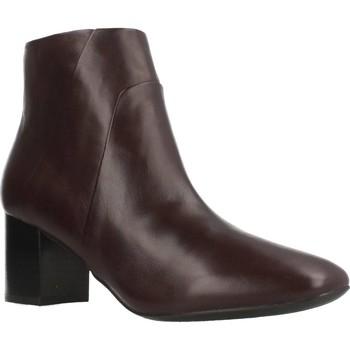 Zapatos Mujer Botas de caña baja Geox D NEW SYMPHONY Marron