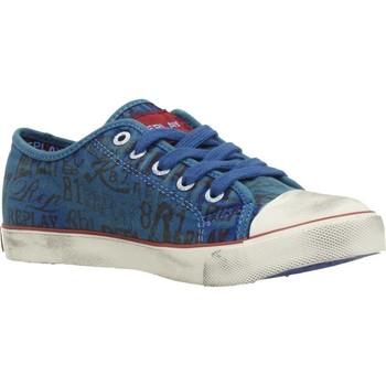 Zapatos Niño Zapatillas bajas Replay JV080099T Azul