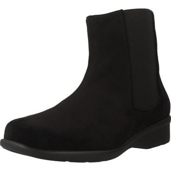 Zapatos Mujer Botas de caña baja Trimas Menorca 1253T Negro