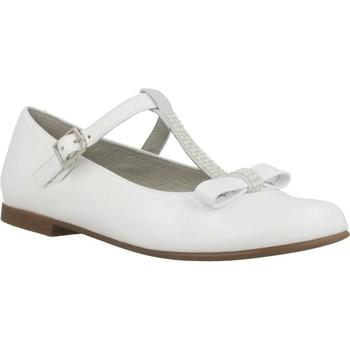 Zapatos Niña Bailarinas-manoletinas Landos 20AE207 Blanco