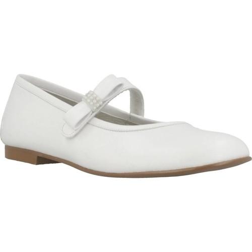 Zapatos Niña Bailarinas-manoletinas Landos 8186AE Blanco