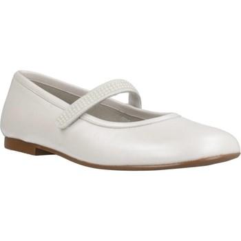 Zapatos Niña Bailarinas-manoletinas Landos 8236AE Blanco