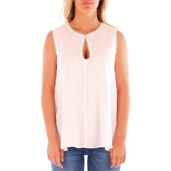 textil Mujer Tops / Blusas Caractere D266 blanco