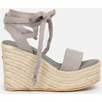 Zapatos Mujer Alpargatas By Peppas C MACAO Gris