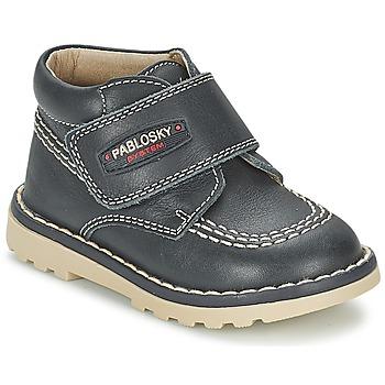 Zapatos Niño Botas de caña baja Pablosky TOBAGUIO Marino