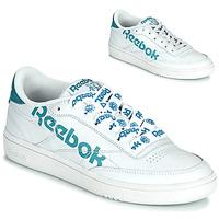 Zapatos Mujer Zapatillas bajas Reebok Classic CLUB C 86 Blanco / Azul