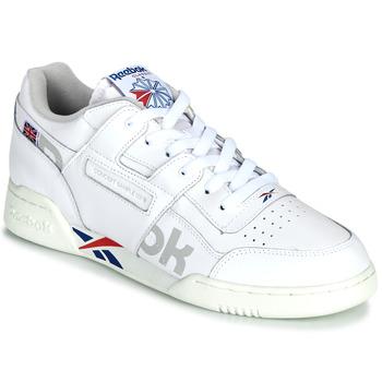 Zapatos Zapatillas bajas Reebok Classic WORKOUT PLUS MU Blanco / Azul / Rojo