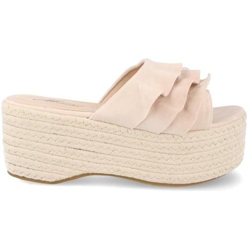 Ainy MB-35 Beige - Envío gratis | ! - Zapatos Alpargatas Mujer